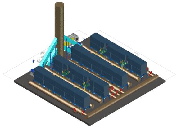3D 4 x 5 Chamber RTO Train