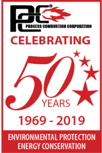 PCC's 50th Anniversary Seal