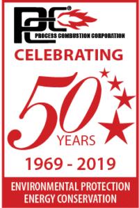PCC's 50th Anniversary Seal